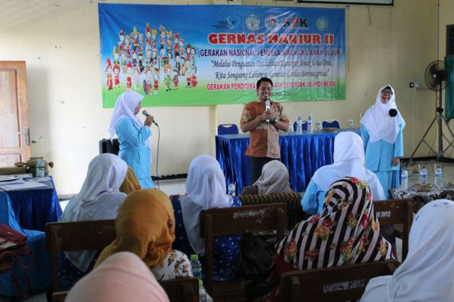 Ice Breaking dari Panitia Parenting