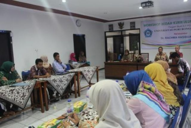 WORKSHOP BEDAH KURIKULUM PAUD KKNI 2016
